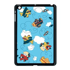 Bear Aircraft Apple Ipad Mini Case (black) by AnjaniArt