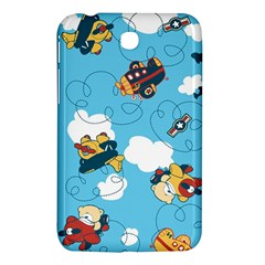 Bear Aircraft Samsung Galaxy Tab 3 (7 ) P3200 Hardshell Case  by AnjaniArt