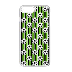 Ball Line Apple Iphone 7 Plus White Seamless Case by AnjaniArt