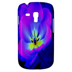 Blue And Purple Flowers Galaxy S3 Mini by AnjaniArt