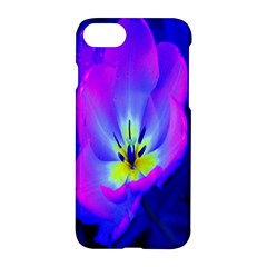 Blue And Purple Flowers Apple Iphone 7 Hardshell Case