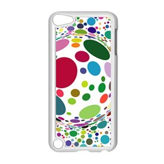 Color Balls Apple Ipod Touch 5 Case (white) by AnjaniArt