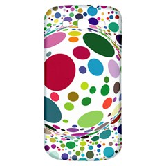 Color Balls Samsung Galaxy S3 S Iii Classic Hardshell Back Case by AnjaniArt