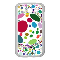 Color Balls Samsung Galaxy Grand Duos I9082 Case (white) by AnjaniArt
