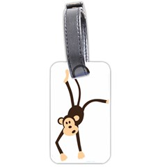 Colorful Animal Monkey Luggage Tags (two Sides)