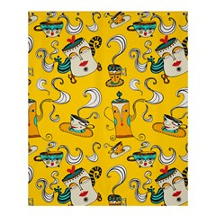 Caffe Break Tea Shower Curtain 60  X 72  (medium)  by AnjaniArt