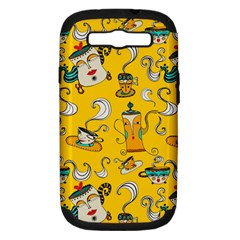 Caffe Break Tea Samsung Galaxy S Iii Hardshell Case (pc+silicone) by AnjaniArt