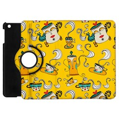 Caffe Break Tea Apple Ipad Mini Flip 360 Case