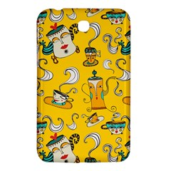 Caffe Break Tea Samsung Galaxy Tab 3 (7 ) P3200 Hardshell Case  by AnjaniArt
