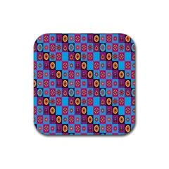 Batik Rubber Square Coaster (4 Pack)  by AnjaniArt