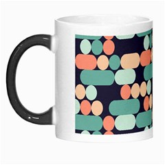 Coral Mint Color Style Morph Mugs by AnjaniArt