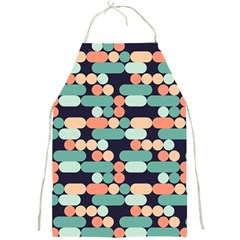 Coral Mint Color Style Full Print Aprons by AnjaniArt