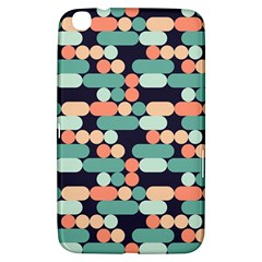Coral Mint Color Style Samsung Galaxy Tab 3 (8 ) T3100 Hardshell Case  by AnjaniArt
