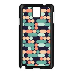 Coral Mint Color Style Samsung Galaxy Note 3 N9005 Case (black) by AnjaniArt