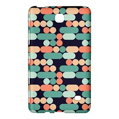Coral Mint Color Style Samsung Galaxy Tab 4 (7 ) Hardshell Case  by AnjaniArt