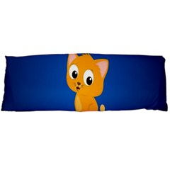 Cute Cat Body Pillow Case (dakimakura) by AnjaniArt