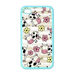 Cow Animals Apple Iphone 4 Case (color)