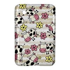 Cow Animals Samsung Galaxy Tab 2 (7 ) P3100 Hardshell Case  by AnjaniArt