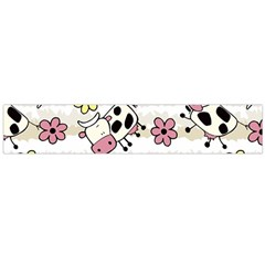 Cow Animals Flano Scarf (large)