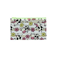 Cow Animals Cosmetic Bag (xs) by AnjaniArt