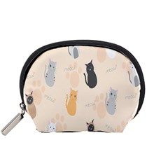 Cute Cat Meow Animals Accessory Pouches (small)