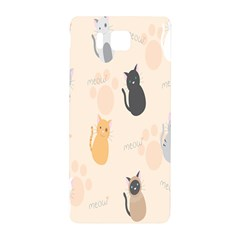 Cute Cat Meow Animals Samsung Galaxy Alpha Hardshell Back Case