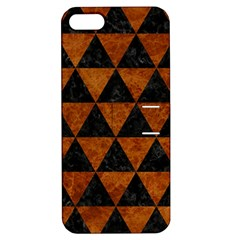 Triangle3 Black Marble & Brown Marble Apple Iphone 5 Hardshell Case With Stand by trendistuff