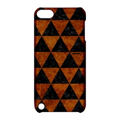 Triangle3 Black Marble & Brown Marble Apple Ipod Touch 5 Hardshell Case With Stand by trendistuff