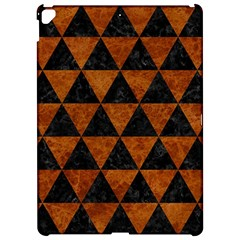 Triangle3 Black Marble & Brown Marble Apple Ipad Pro 12 9   Hardshell Case