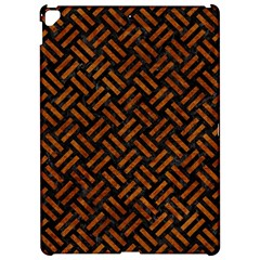 Woven2 Black Marble & Brown Marble Apple Ipad Pro 12 9   Hardshell Case by trendistuff
