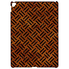 Woven2 Black Marble & Brown Marble (r) Apple Ipad Pro 12 9   Hardshell Case by trendistuff