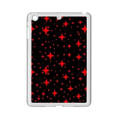 Bright Red Stars In Space Ipad Mini 2 Enamel Coated Cases by Costasonlineshop