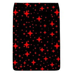 Bright Red Stars In Space Flap Covers (l)  by Costasonlineshop
