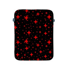 Bright Red Stars In Space Apple Ipad 2/3/4 Protective Soft Cases by Costasonlineshop