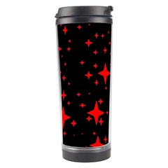 Bright Red Stars In Space Travel Tumbler by Costasonlineshop