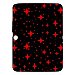 Bright Red Stars In Space Samsung Galaxy Tab 3 (10 1 ) P5200 Hardshell Case  by Costasonlineshop