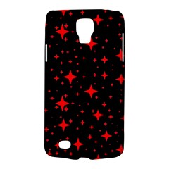 Bright Red Stars In Space Galaxy S4 Active by Costasonlineshop