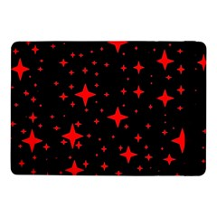 Bright Red Stars In Space Samsung Galaxy Tab Pro 10 1  Flip Case by Costasonlineshop