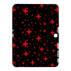 Bright Red Stars In Space Samsung Galaxy Tab 4 (10 1 ) Hardshell Case  by Costasonlineshop