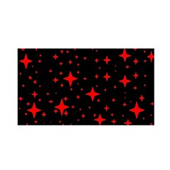 Bright Red Stars In Space Satin Wrap by Costasonlineshop