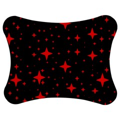 Bright Red Stars In Space Jigsaw Puzzle Photo Stand (bow) by Costasonlineshop