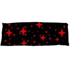 Bright Red Stars In Space Body Pillow Case (dakimakura) by Costasonlineshop