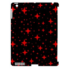 Bright Red Stars In Space Apple Ipad 3/4 Hardshell Case (compatible With Smart Cover) by Costasonlineshop