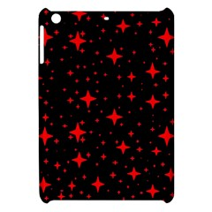 Bright Red Stars In Space Apple Ipad Mini Hardshell Case by Costasonlineshop