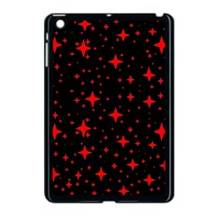 Bright Red Stars In Space Apple Ipad Mini Case (black) by Costasonlineshop