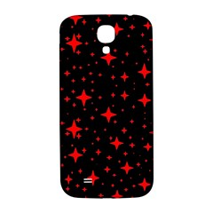 Bright Red Stars In Space Samsung Galaxy S4 I9500/i9505  Hardshell Back Case by Costasonlineshop