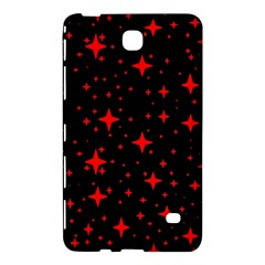 Bright Red Stars In Space Samsung Galaxy Tab 4 (8 ) Hardshell Case  by Costasonlineshop