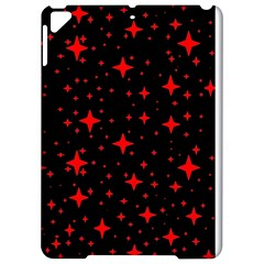 Bright Red Stars In Space Apple Ipad Pro 9 7   Hardshell Case by Costasonlineshop
