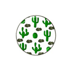 Cactuses 3 Hat Clip Ball Marker (4 Pack) by Valentinaart