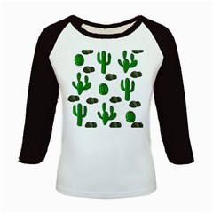 Cactuses 3 Kids Baseball Jerseys by Valentinaart